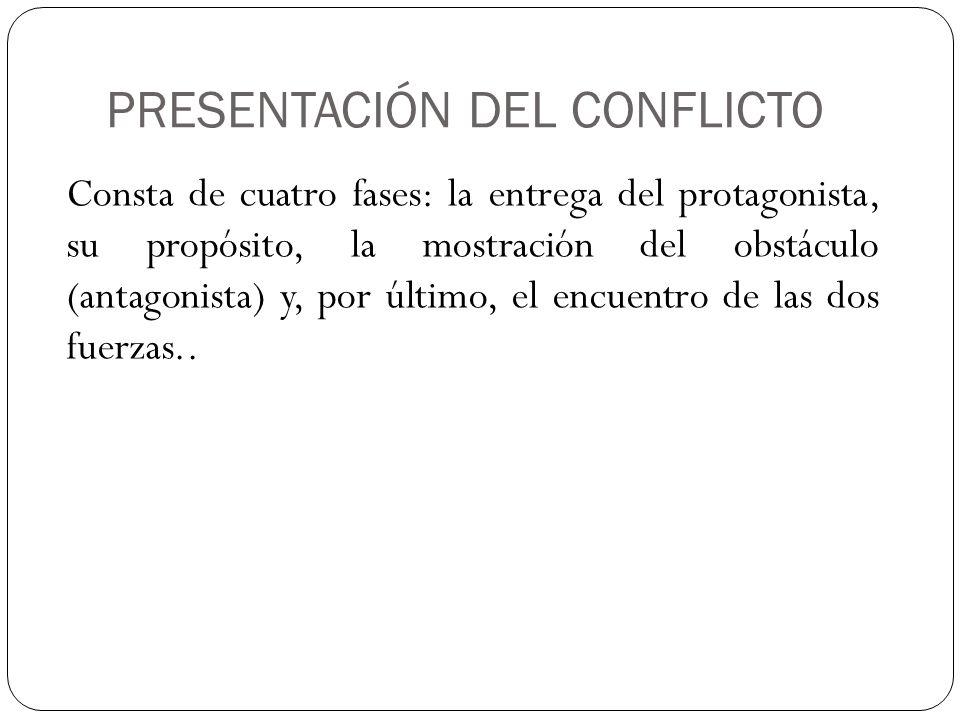 PRESENTACIÓN DEL CONFLICTO