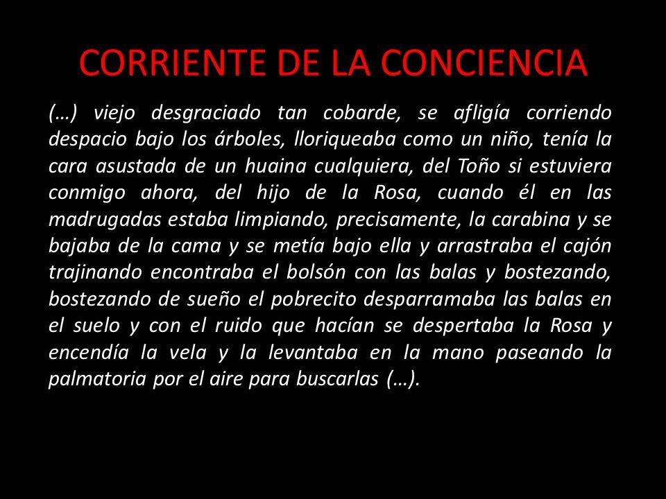 CORRIENTE DE LA CONCIENCIA