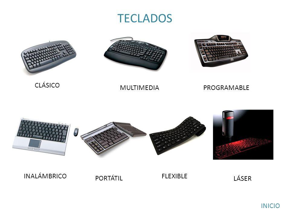 TECLADOS CLÁSICO MULTIMEDIA PROGRAMABLE INALÁMBRICO FLEXIBLE PORTÁTIL