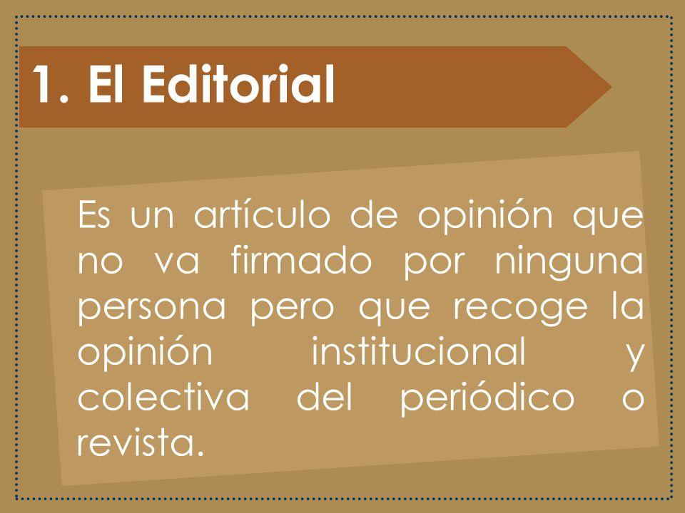 1. El Editorial