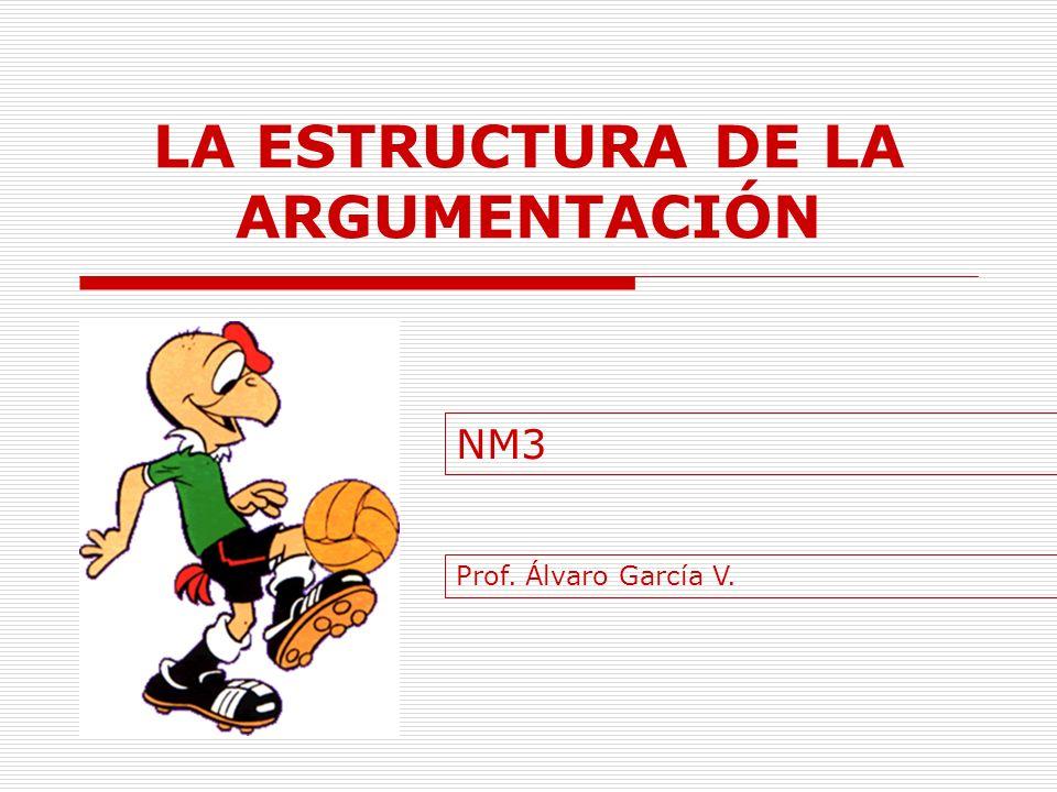 LA ESTRUCTURA DE LA ARGUMENTACIÓN