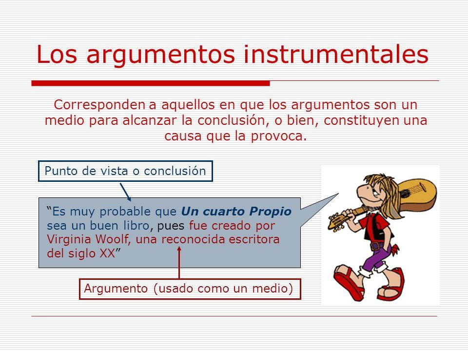 Los argumentos instrumentales