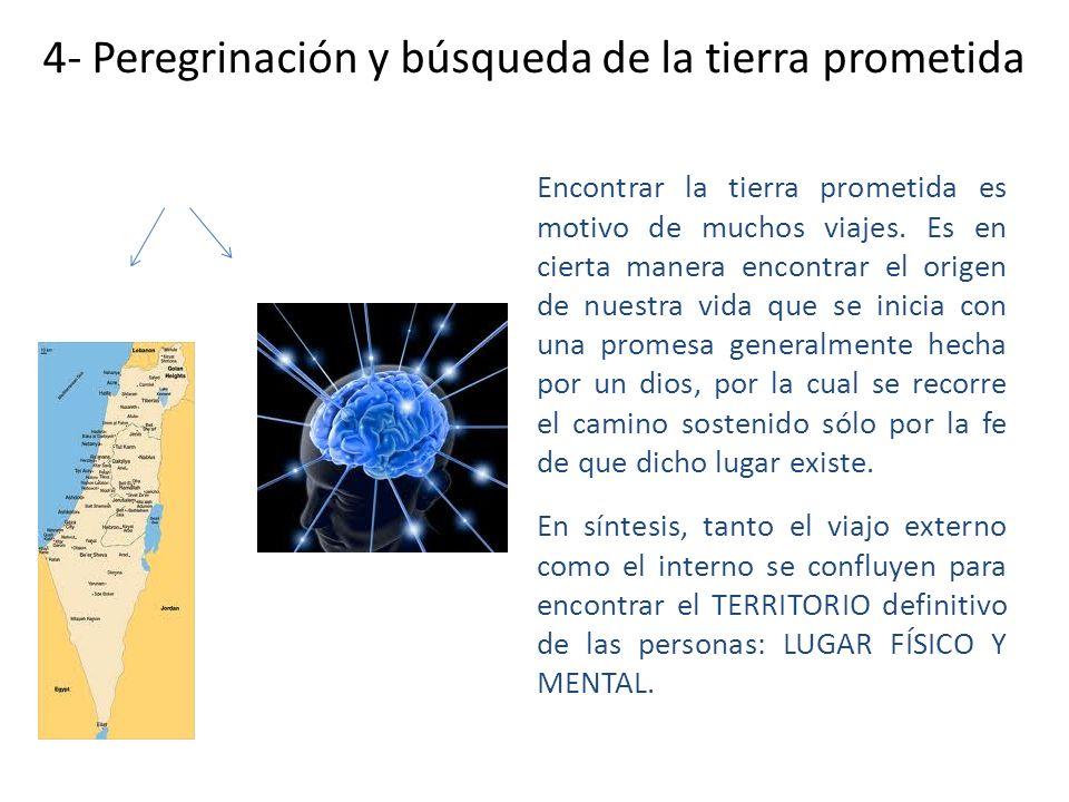 4- Peregrinación y búsqueda de la tierra prometida