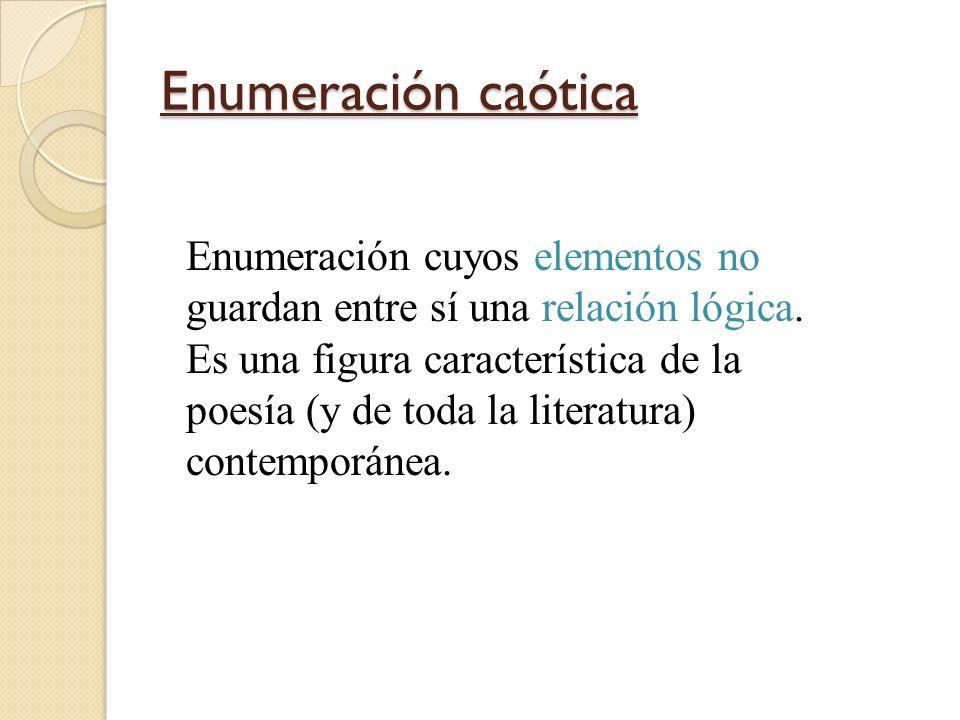 Enumeración caótica