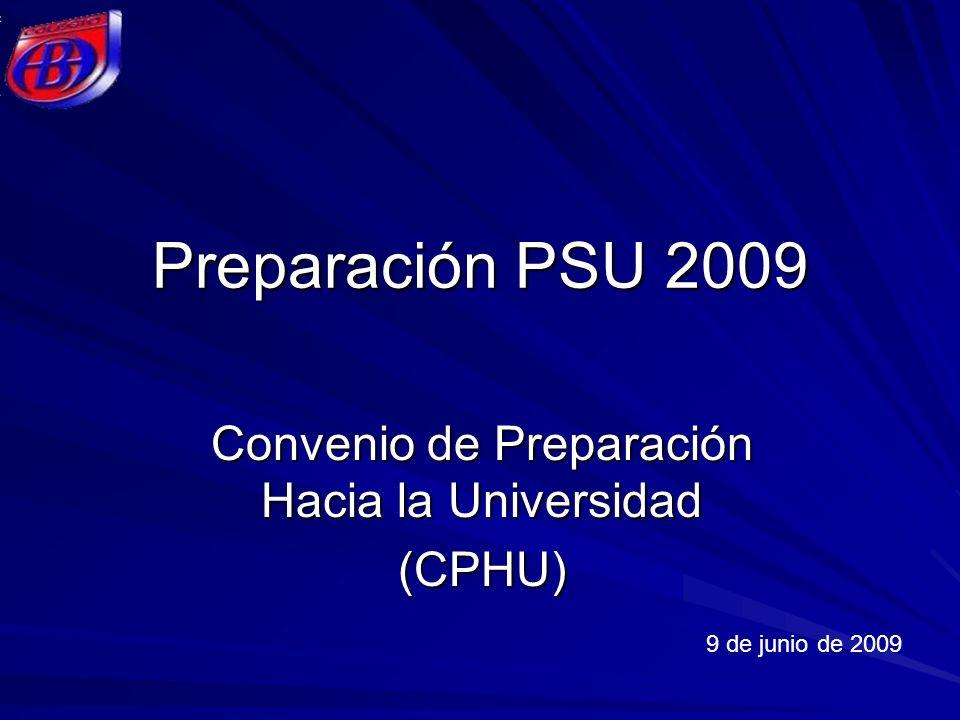 Convenio de Preparación Hacia la Universidad (CPHU)