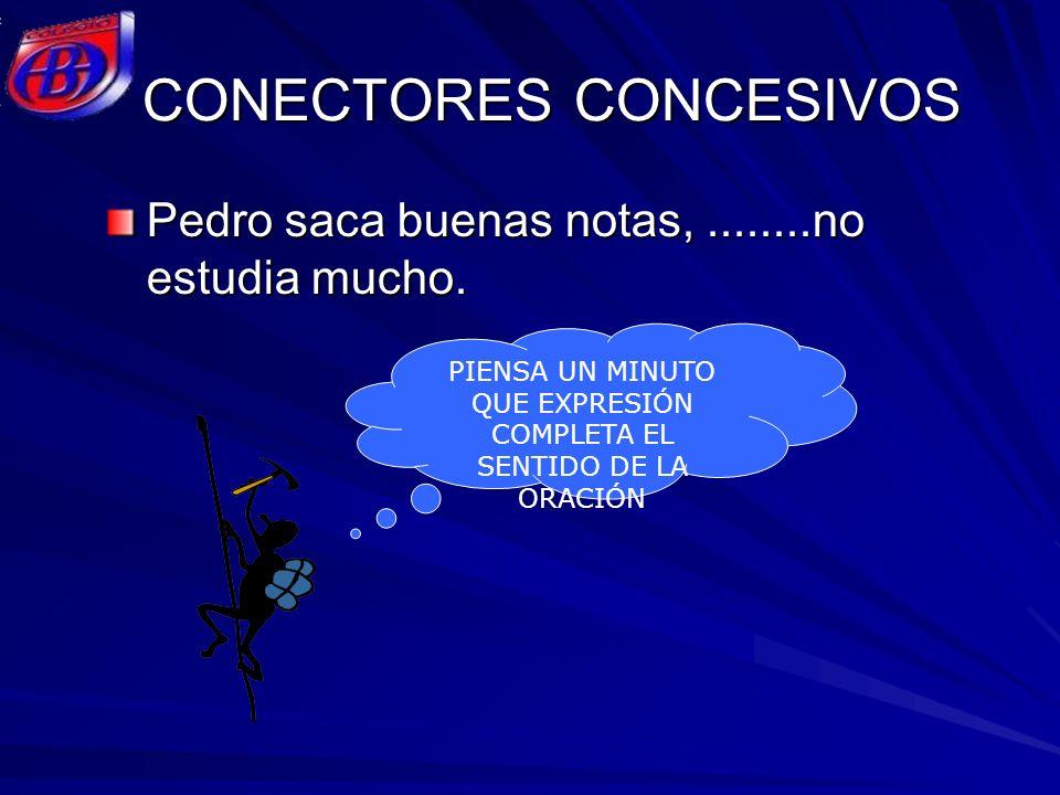 CONECTORES CONCESIVOS