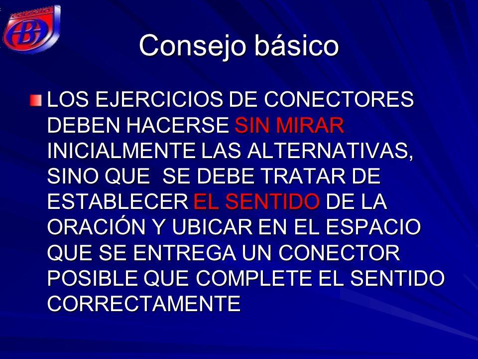 Consejo básico