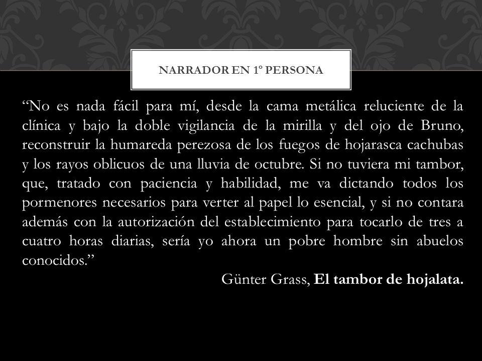 Günter Grass, El tambor de hojalata.