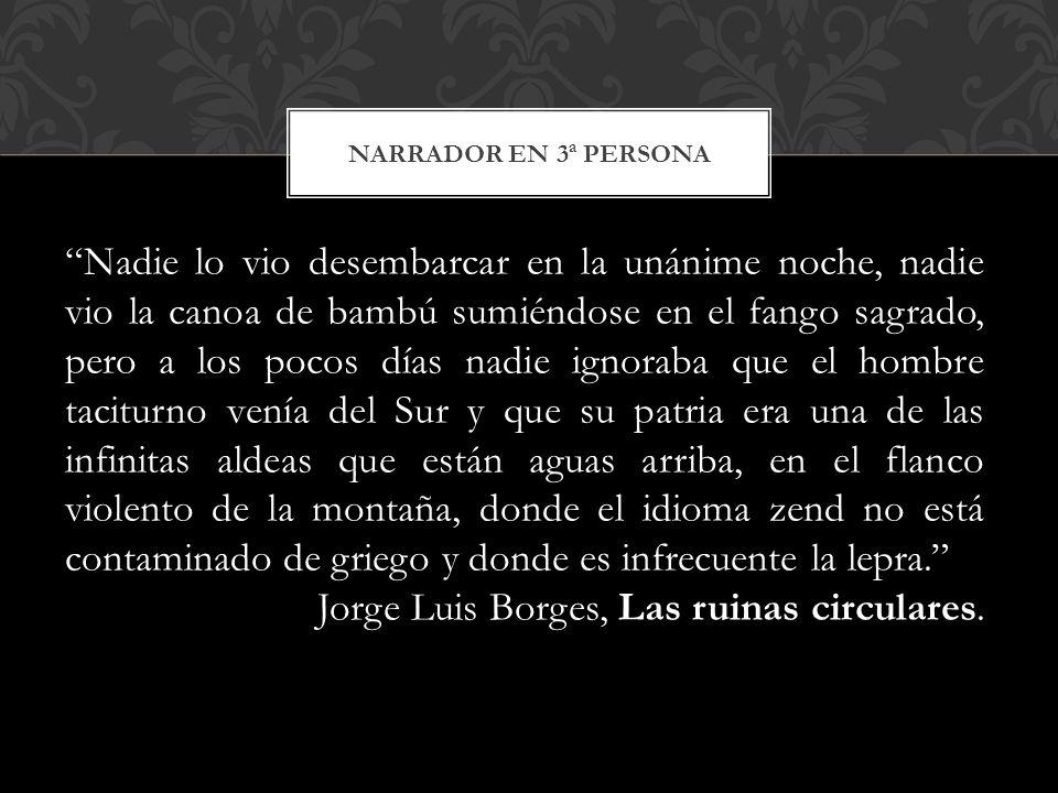 Jorge Luis Borges, Las ruinas circulares.