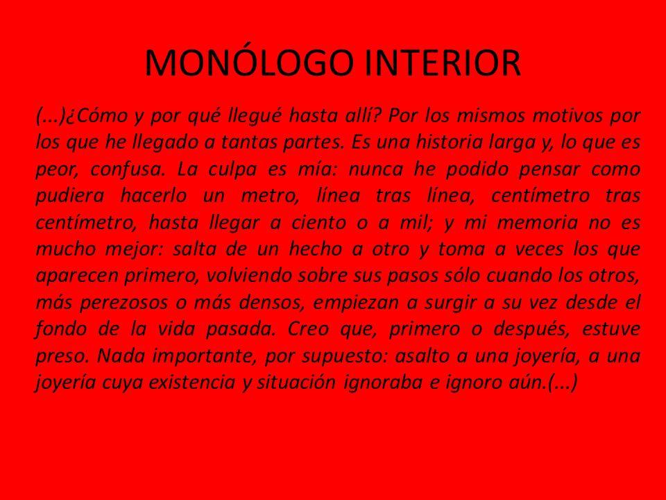 MONÓLOGO INTERIOR