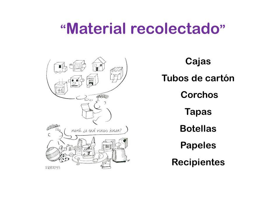 Material recolectado