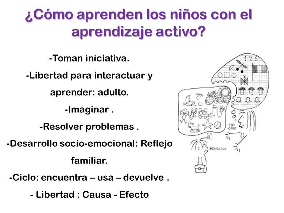 ¿Cómo aprenden los niños con el aprendizaje activo
