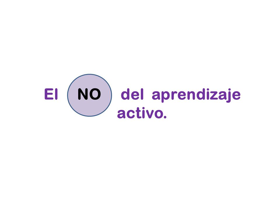 El del aprendizaje activo.