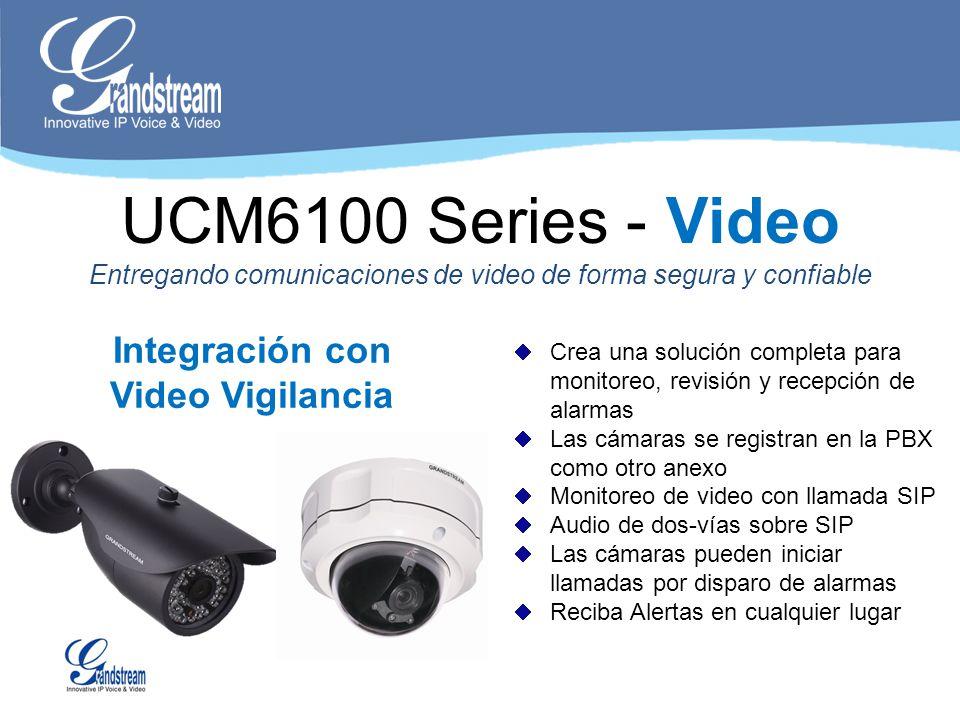 Integración con Video Vigilancia