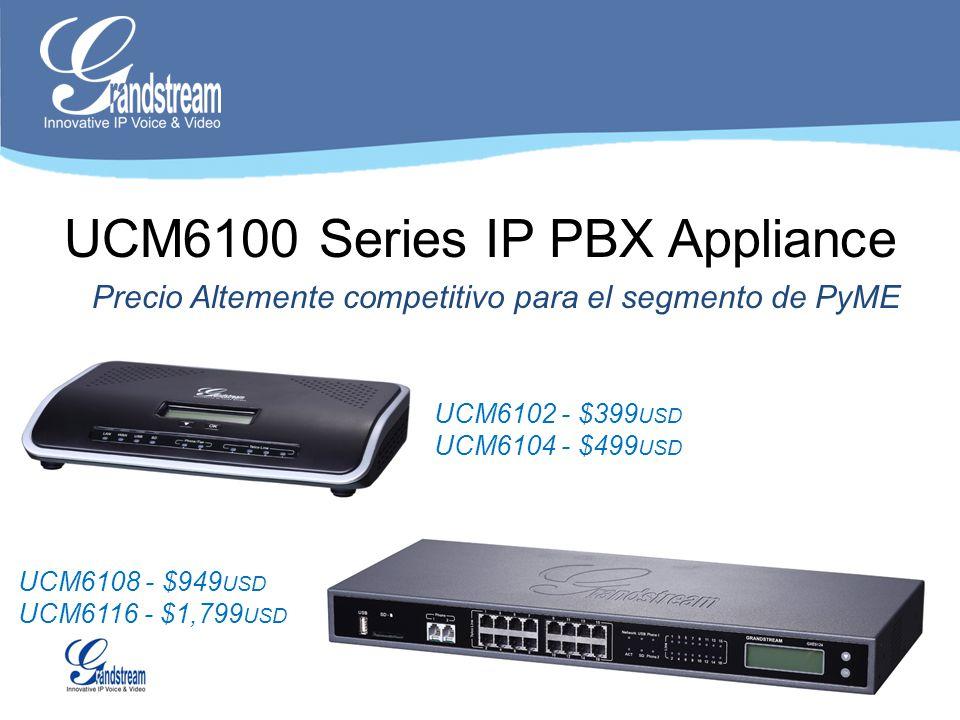 UCM6100 Series IP PBX Appliance