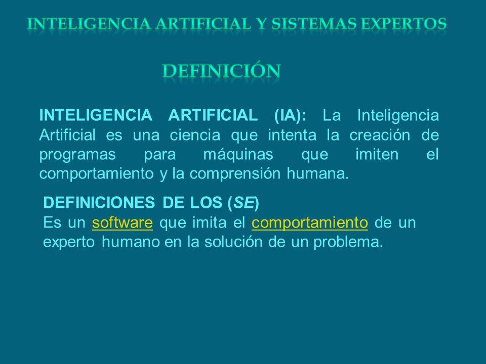 Inteligencia artificial y sistemas expertos