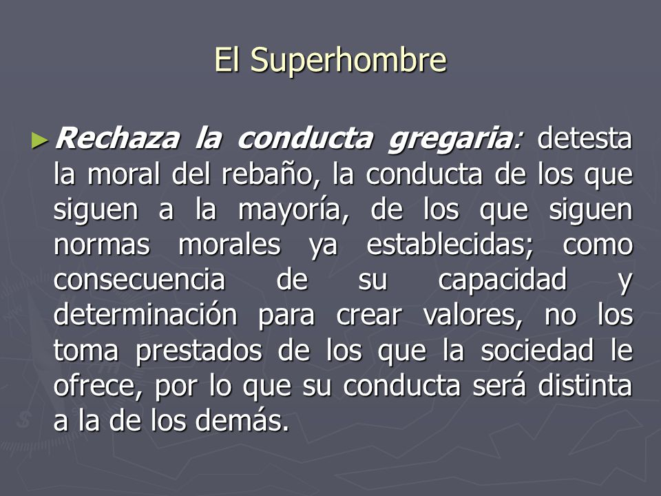 El Superhombre