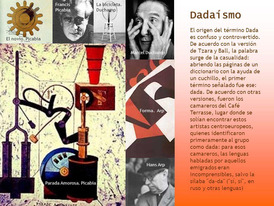 Francis Picabia La bicicleta. Duchamp. Dadaísmo.