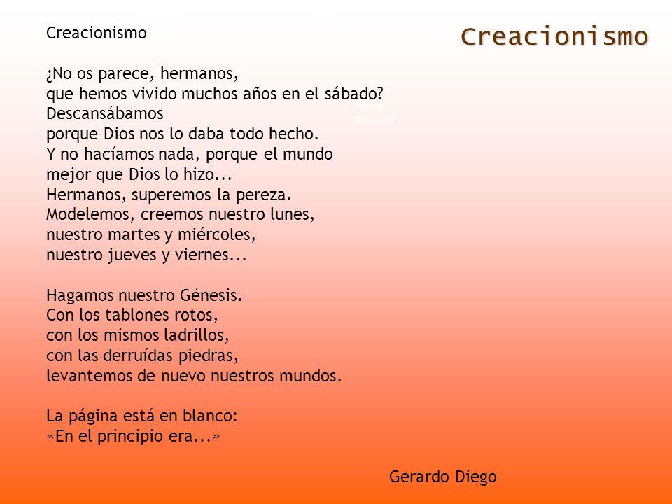 Creacionismo Creacionismo ¿No os parece, hermanos,