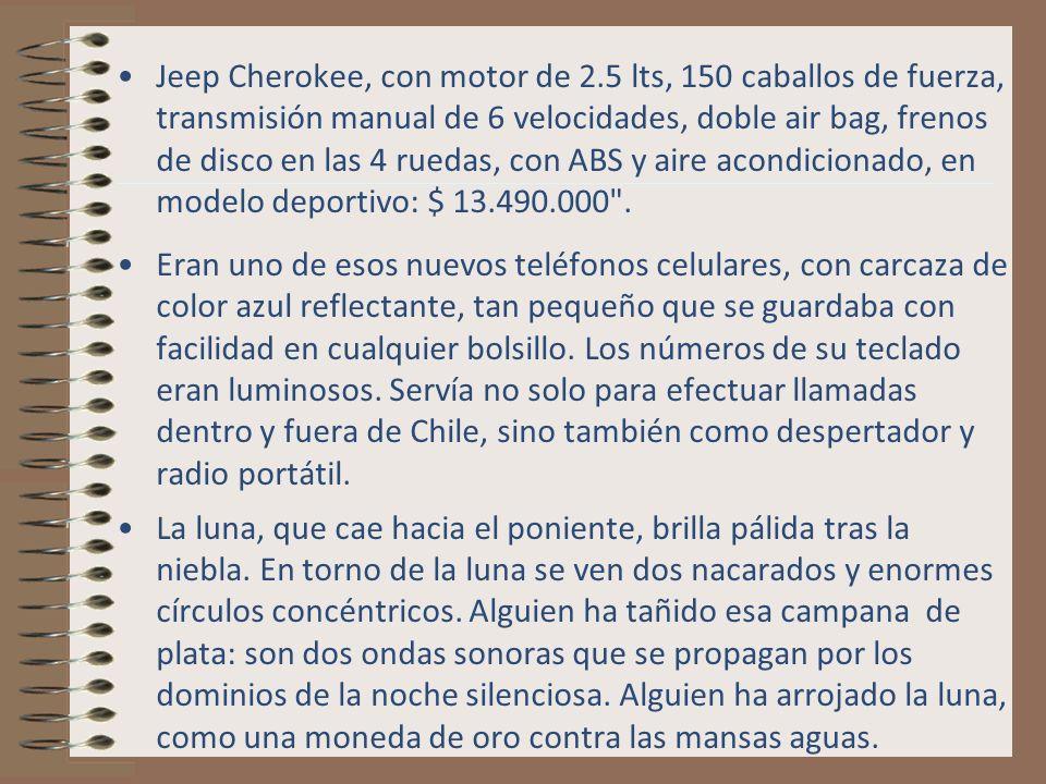 Jeep Cherokee, con motor de 2