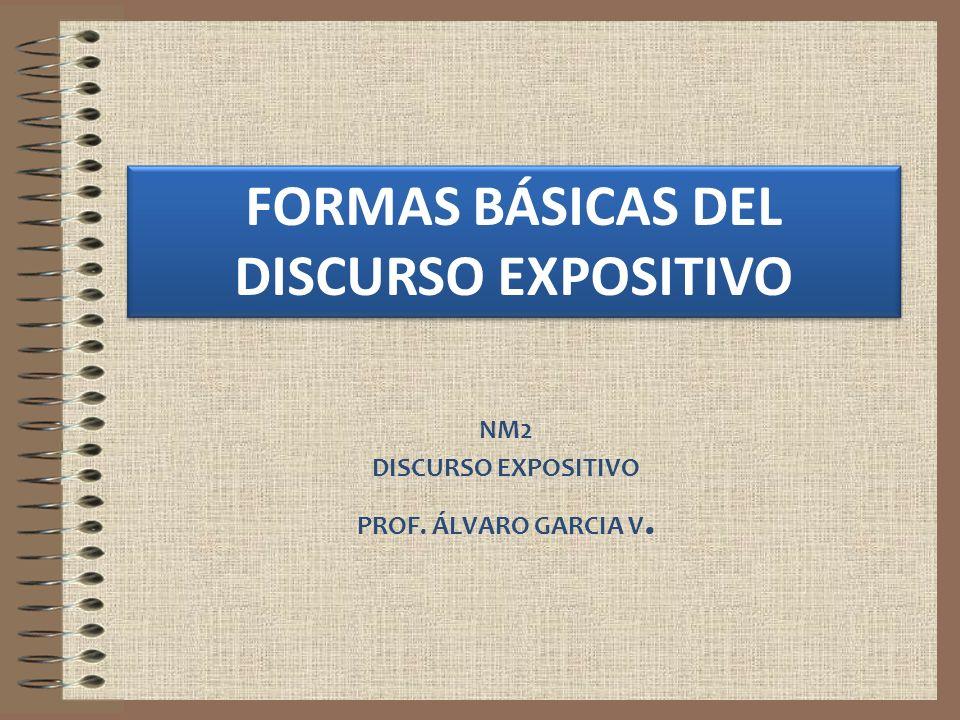 NM2 DISCURSO EXPOSITIVO PROF. ÁLVARO GARCIA V.