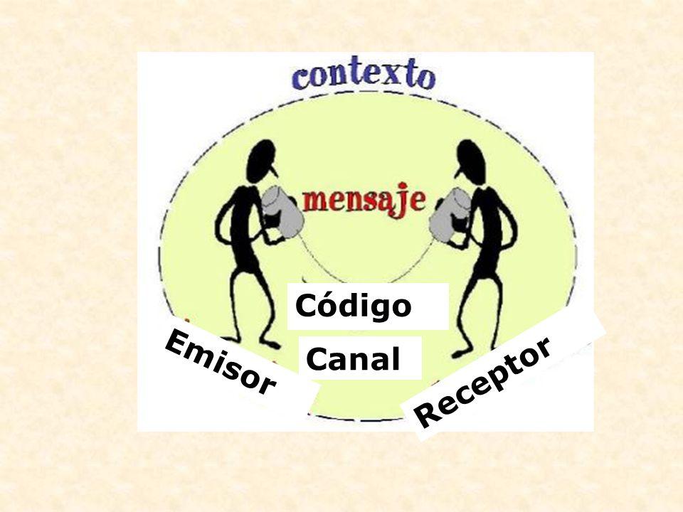 Código Canal Emisor Receptor