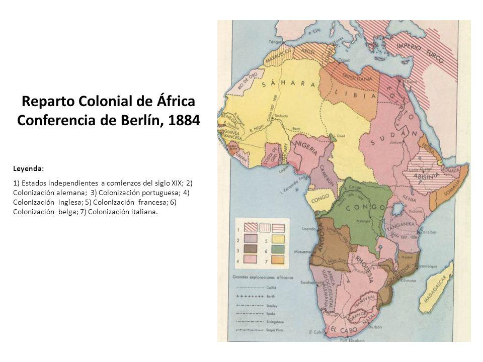Reparto Colonial de África Conferencia de Berlín, 1884