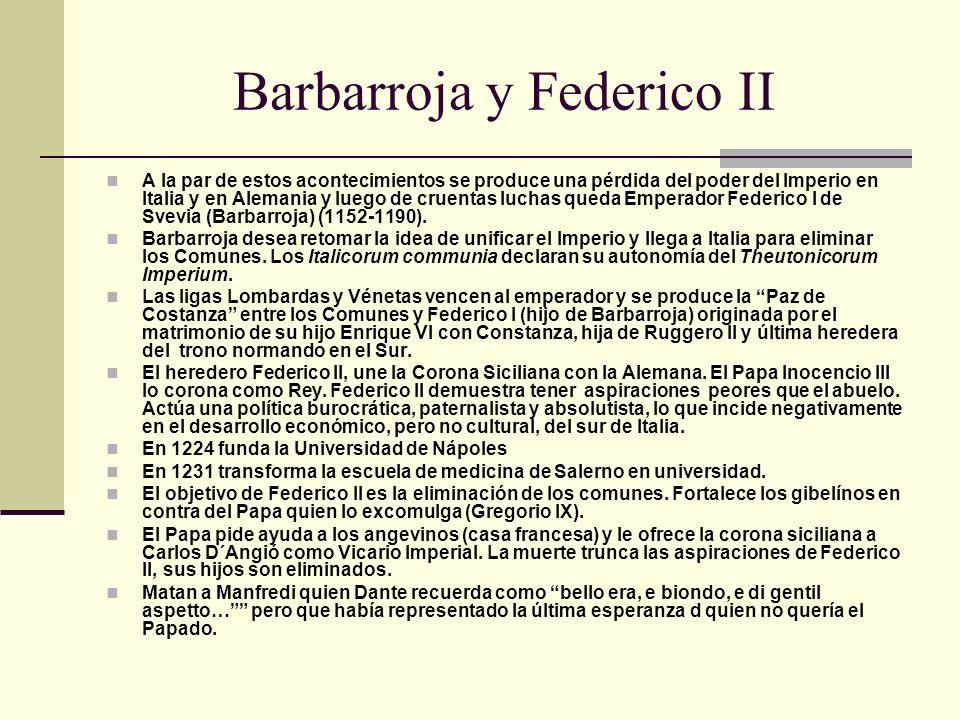 Barbarroja y Federico II