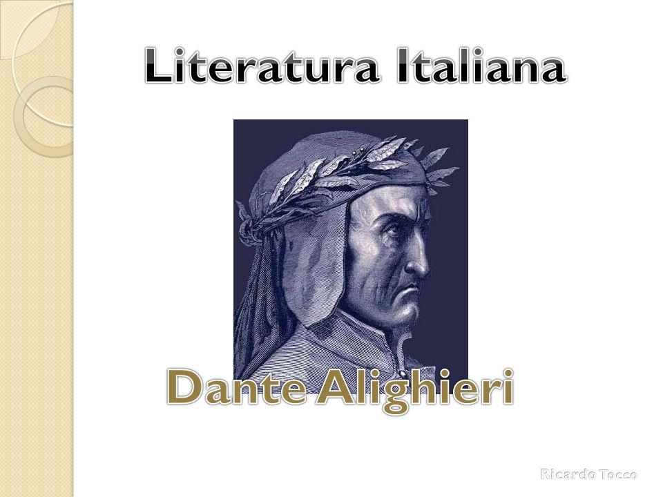 Literatura Italiana Dante Alighieri