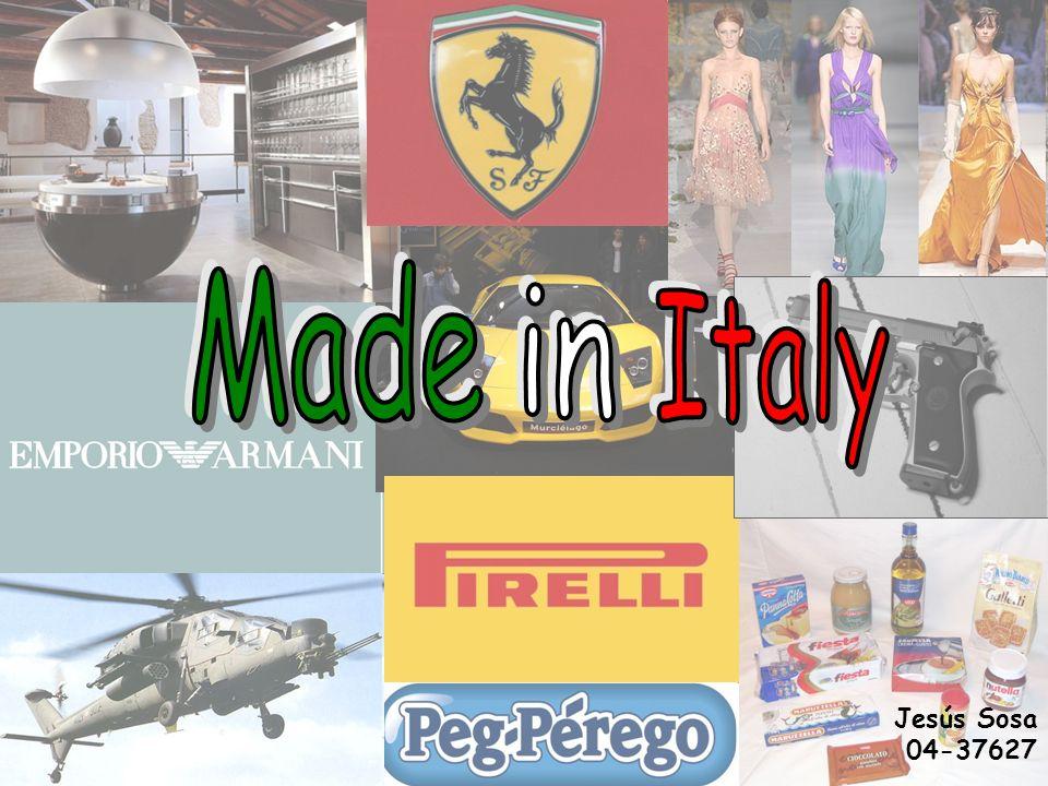Made in Italy Jesús Sosa 04-37627