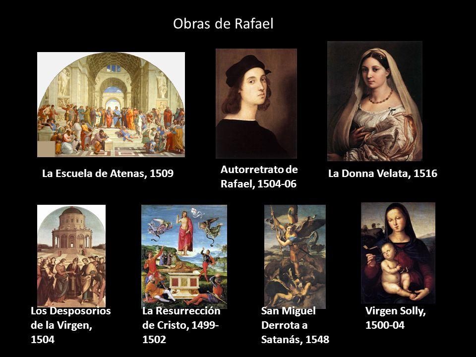 Obras de Rafael Autorretrato de Rafael, 1504-06
