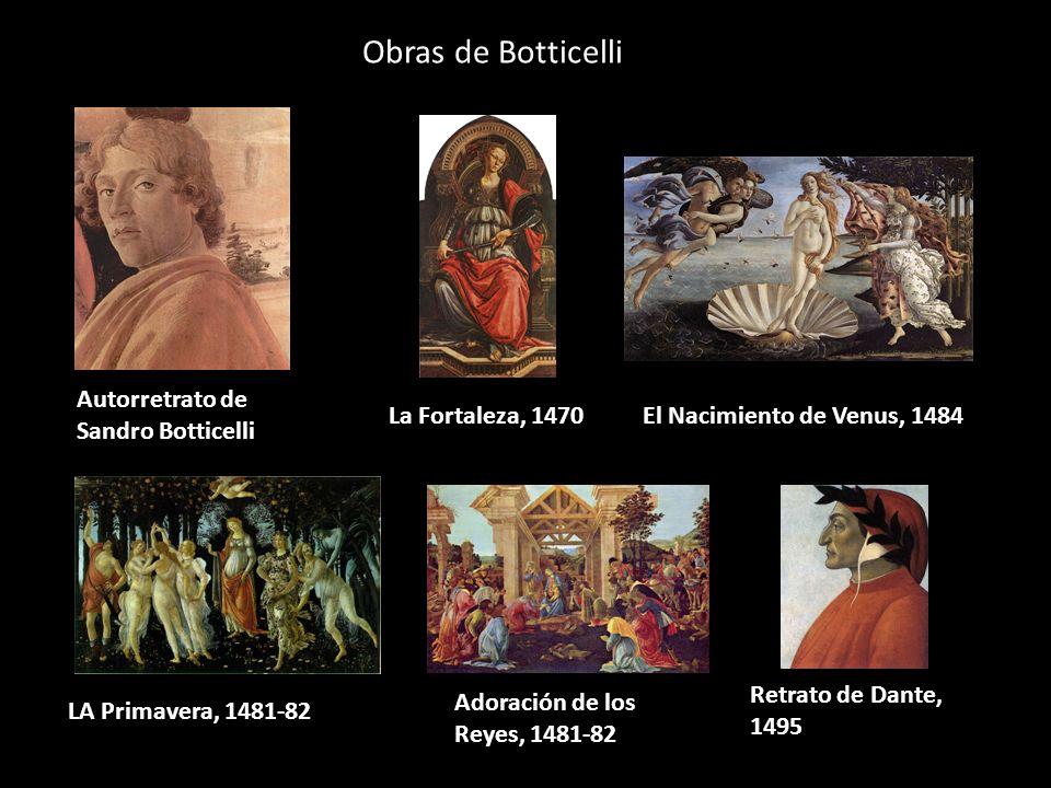 Obras de Botticelli Autorretrato de Sandro Botticelli