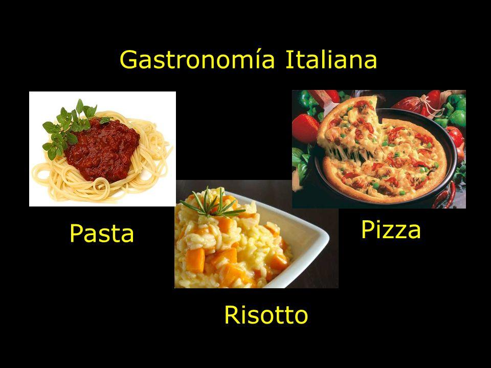 Gastronomía Italiana Pizza Pasta Risotto