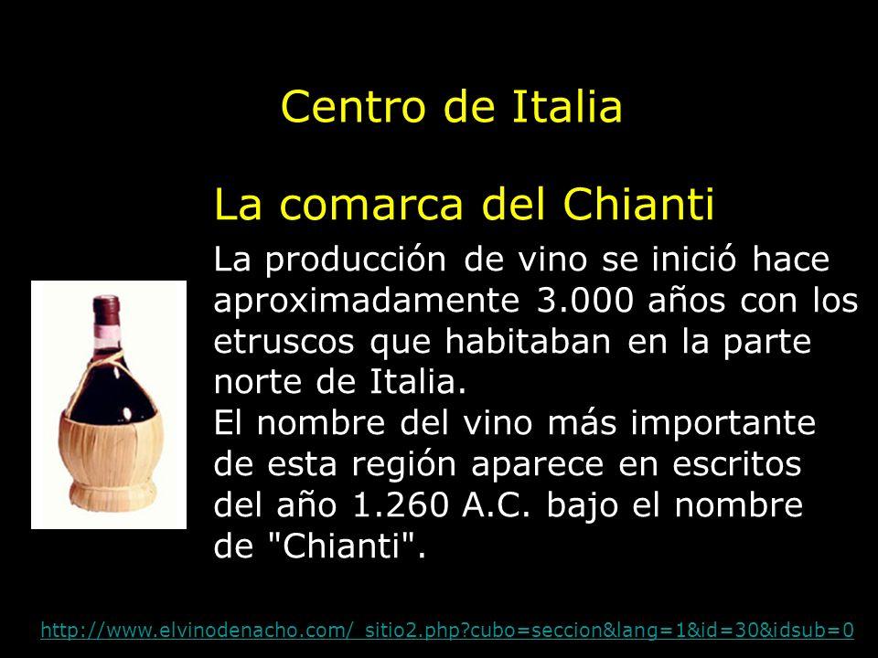 Centro de Italia La comarca del Chianti