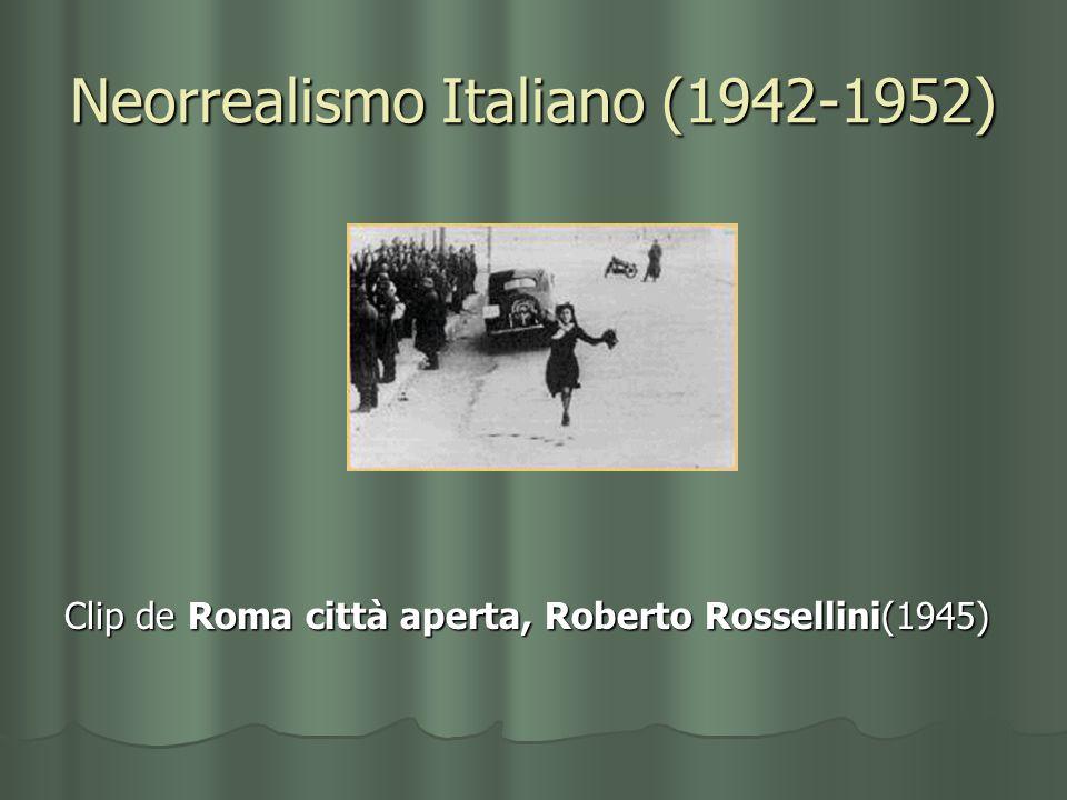 Neorrealismo Italiano (1942-1952)