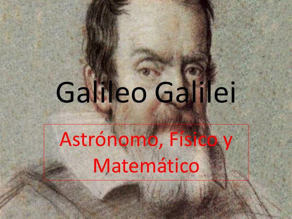 Astrónomo, Físico y Matemático