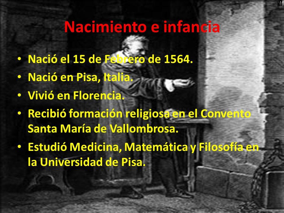 Nacimiento e infancia Nació el 15 de Febrero de 1564.