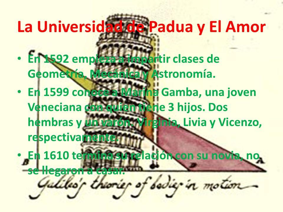 La Universidad de Padua y El Amor
