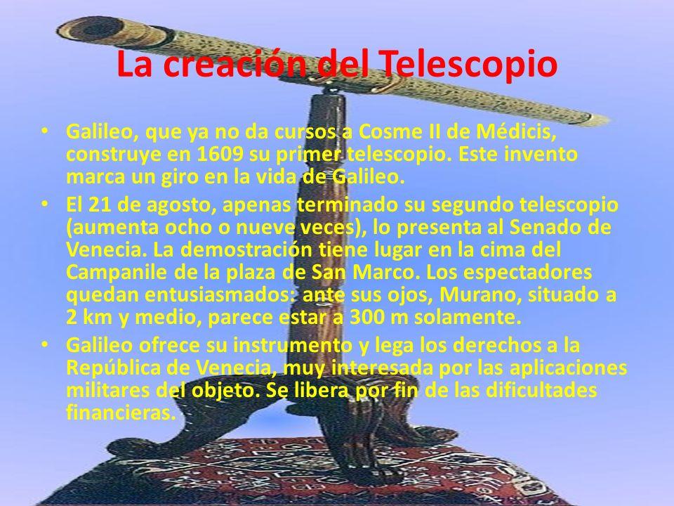 La creación del Telescopio