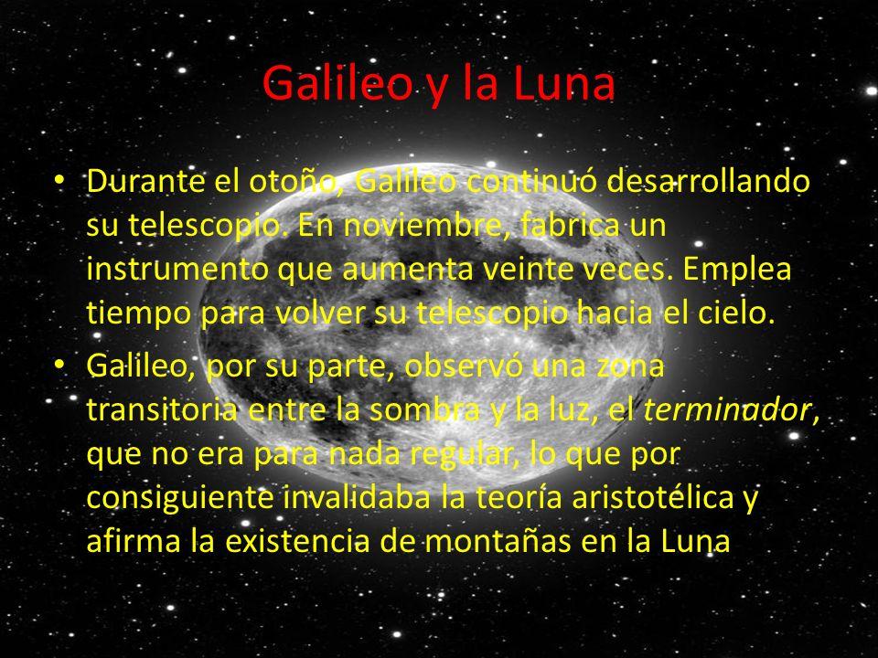 Galileo y la Luna