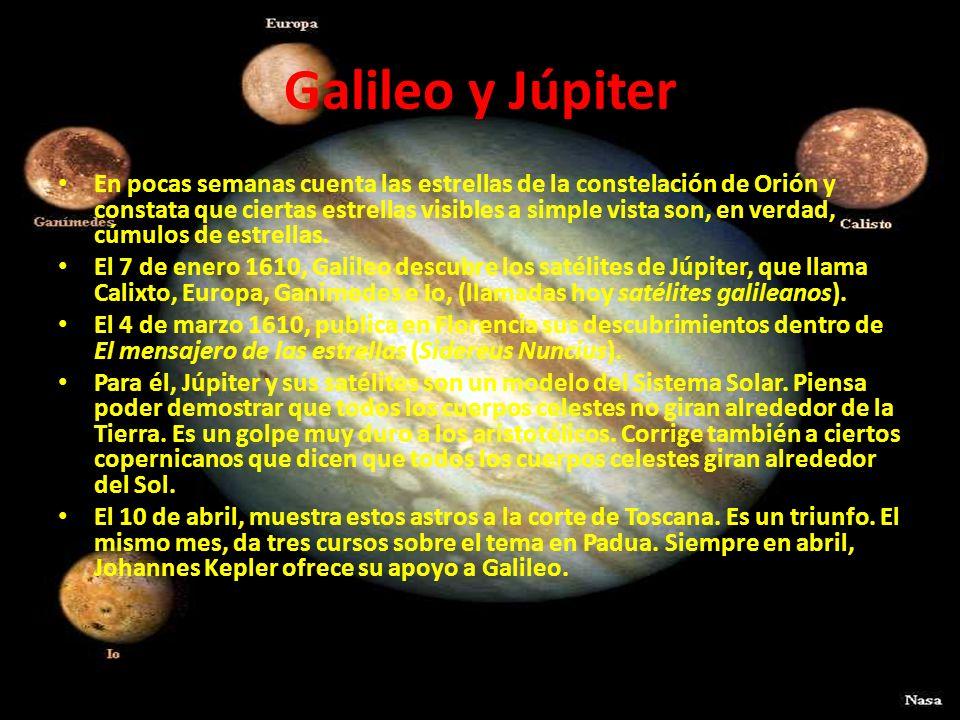 Galileo y Júpiter