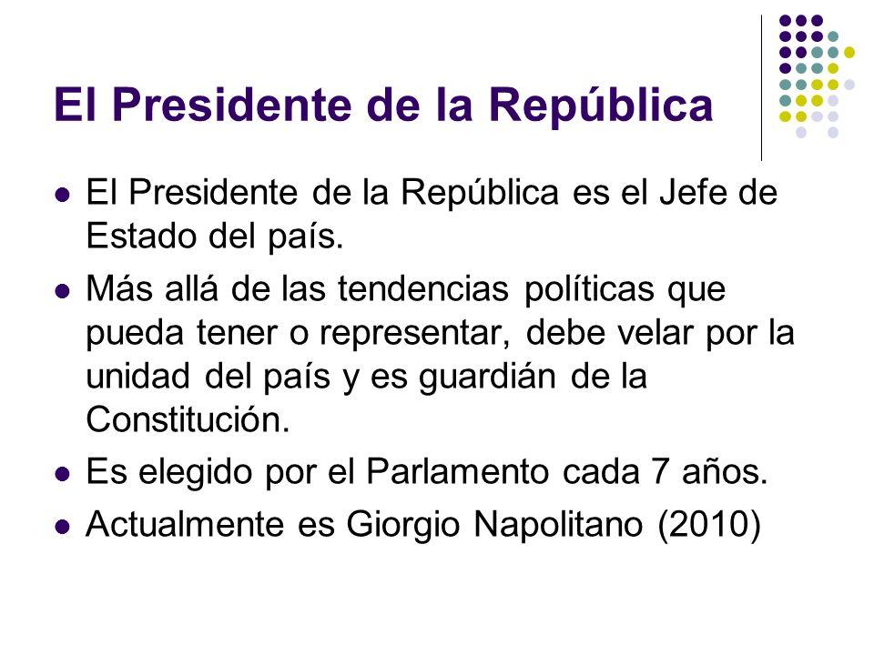 El Presidente de la República