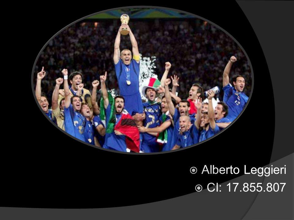 Alberto Leggieri CI: 17.855.807