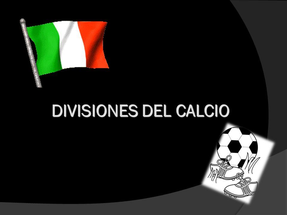 DIVISIONES DEL CALCIO