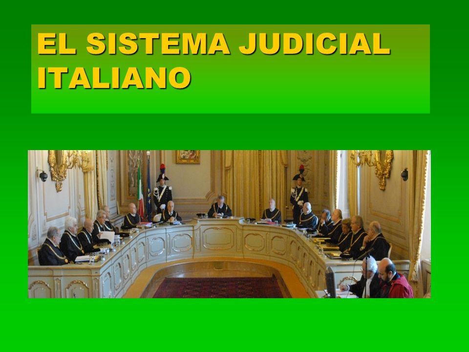 EL SISTEMA JUDICIAL ITALIANO