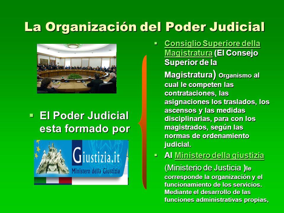 La Organización del Poder Judicial