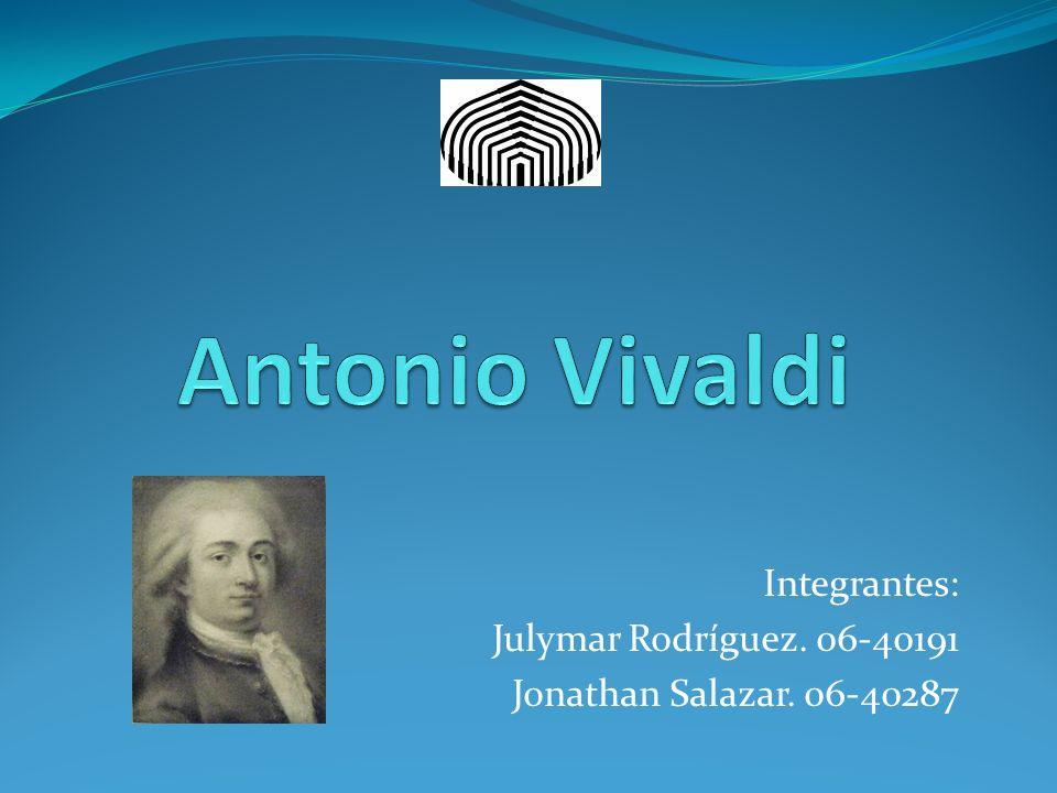 Integrantes: Julymar Rodríguez. 06-40191 Jonathan Salazar. 06-40287