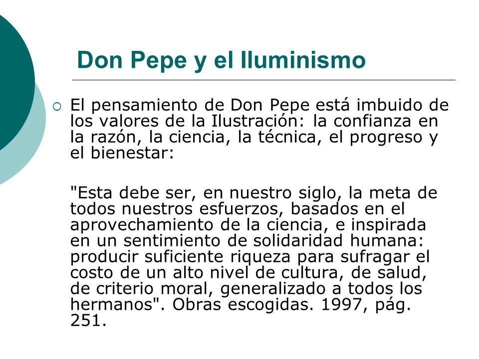 Don Pepe y el Iluminismo