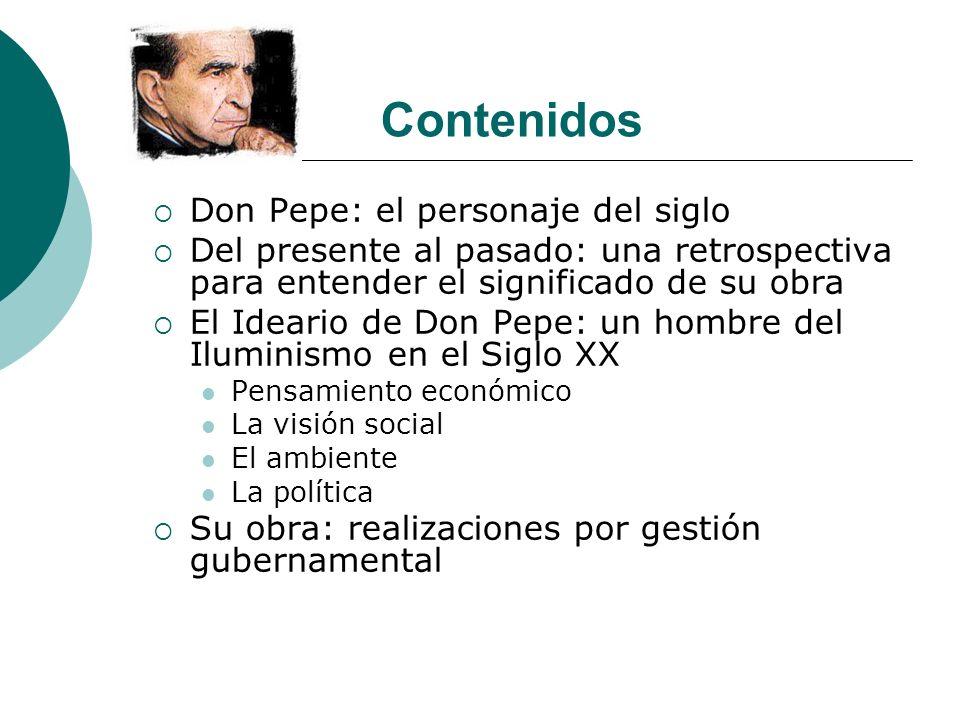 Contenidos Don Pepe: el personaje del siglo
