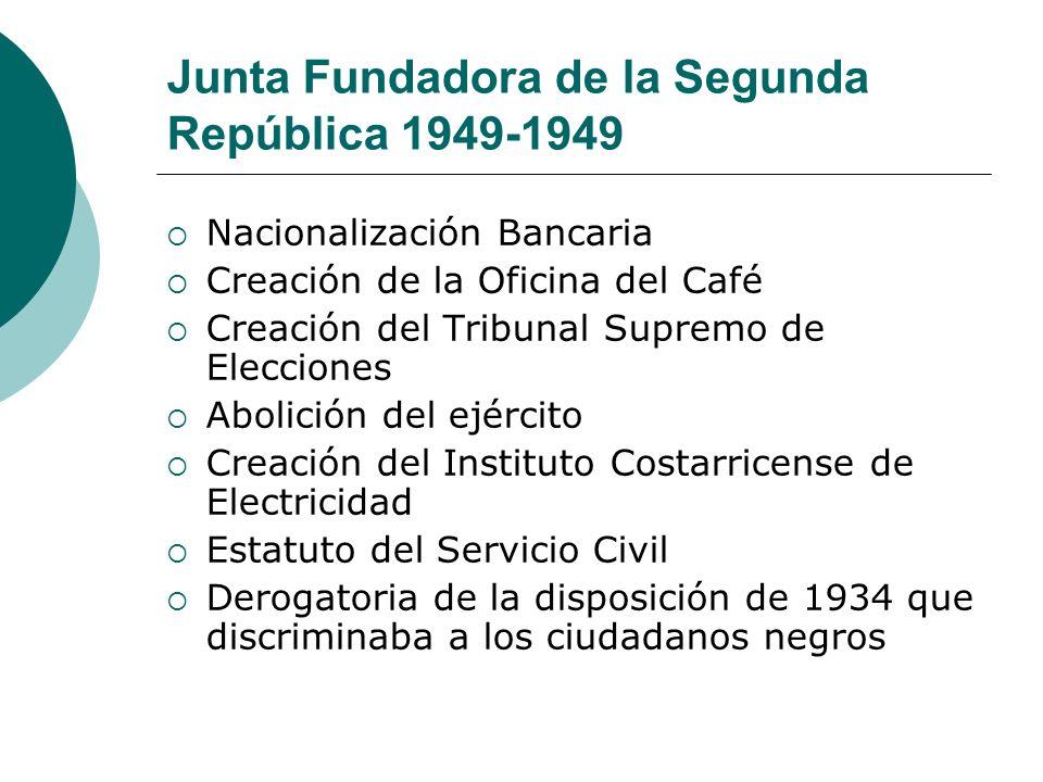 Junta Fundadora de la Segunda República 1949-1949